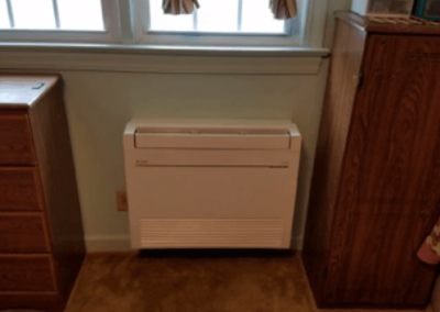 LOW WALL MOUNT DUCTLESS HEAT PUMP UNIT