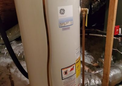 BEFORE TANKLESS WATER HEATER